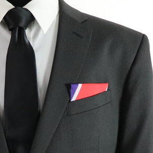 Coast Guard Branch Colors Pocket Square