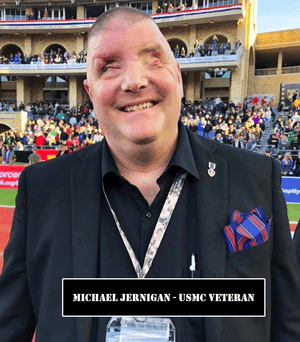 Michael Jernigan, USMC Veteran, Blind American Veterans Association