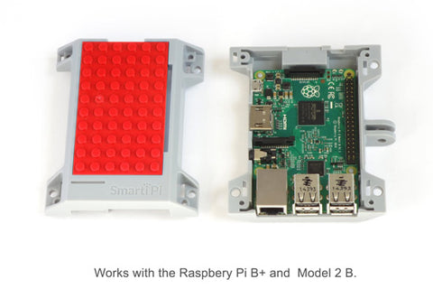 Works with Raspberry Pi B+ and Model 2B