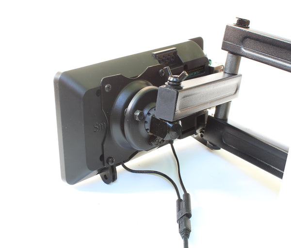 VESA mounts can be used to attached the case to VESA mounts