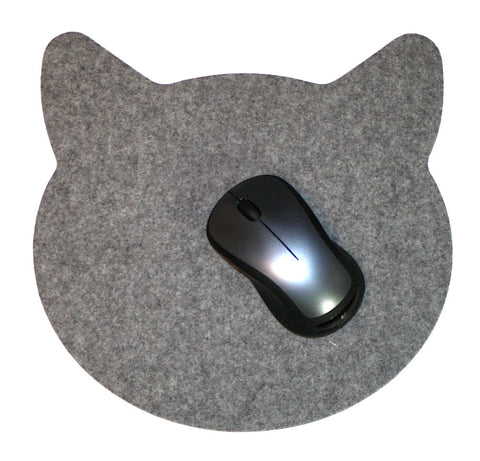 CATS! Oversized Mouse Pads in 5mm Thick Virgin Merino Wool Felt