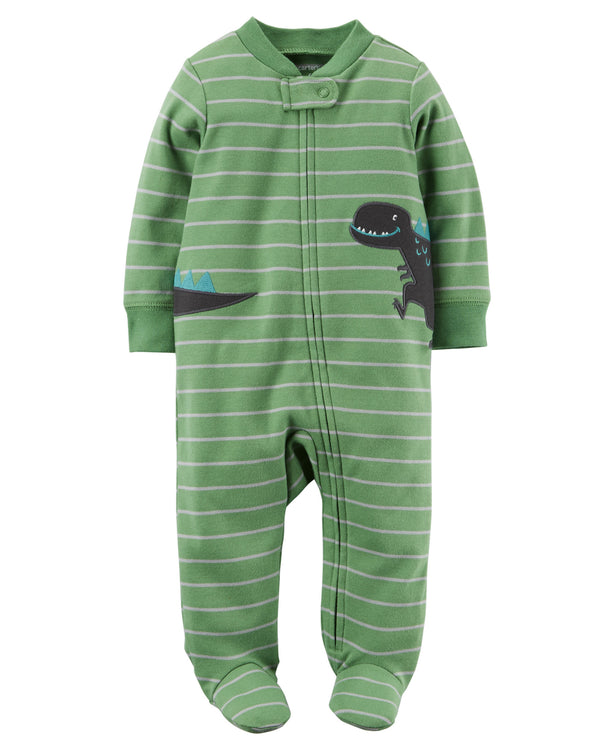 Enterito CARTERS Cotton Zip-Up Sleep & Play