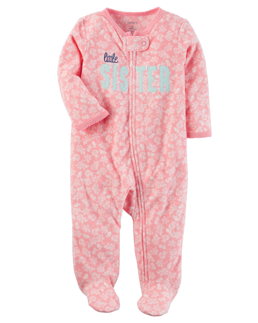 Enterito CARTERS Fleece Zip-Up Sleep & Play Micropolar