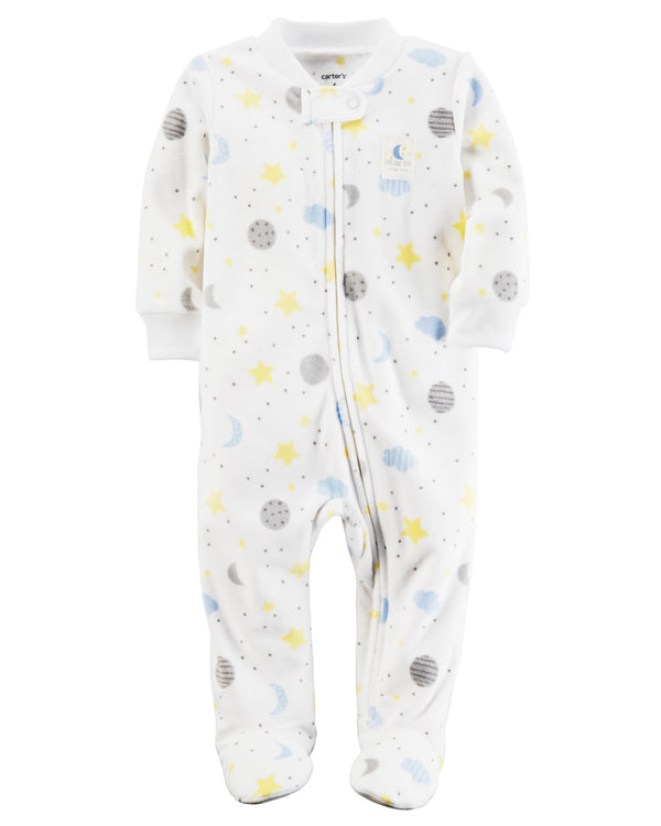 Enterito CARTERS Fleece Zip-Up Sleep & Play