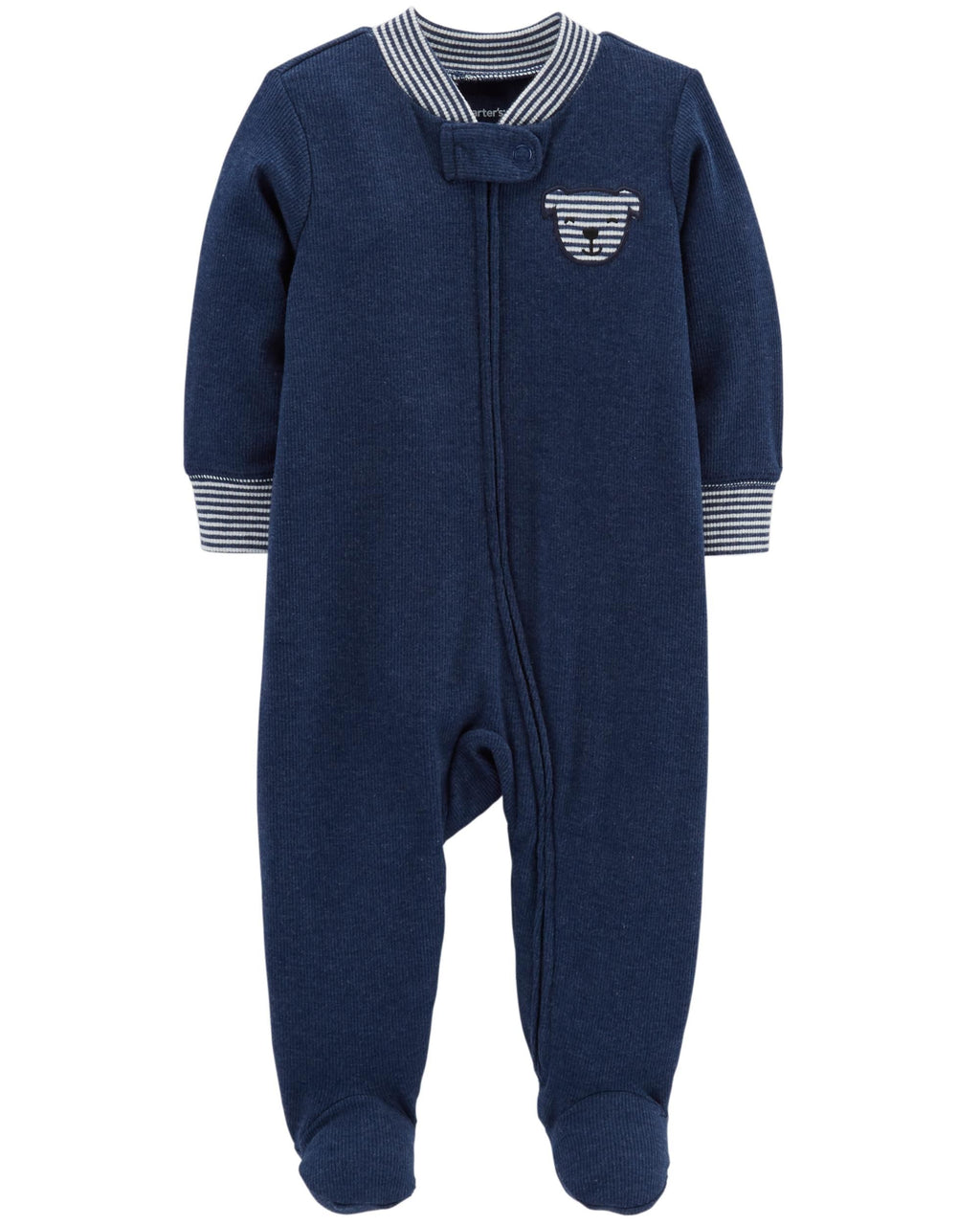 Enterito CARTERS Dog Zip-Up Heathered Cotton Sleep & Play