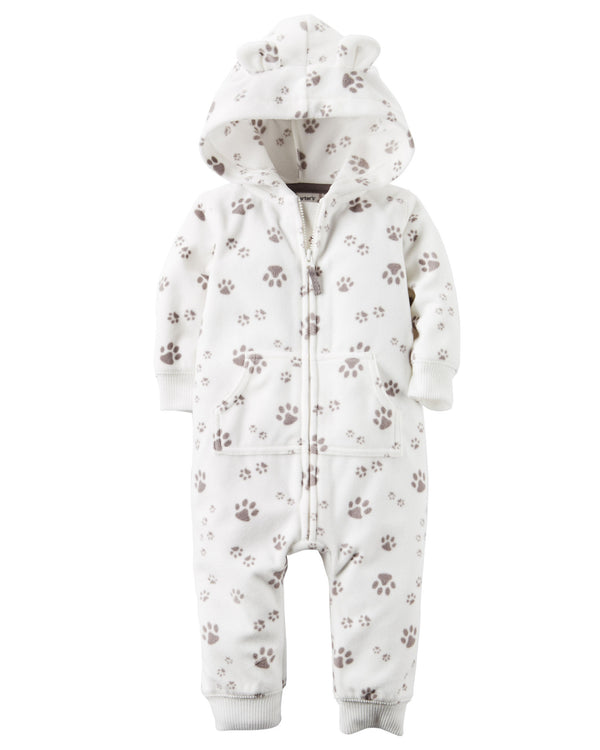 Enterito CARTERS Hooded Fleece Jumpsuit ***
