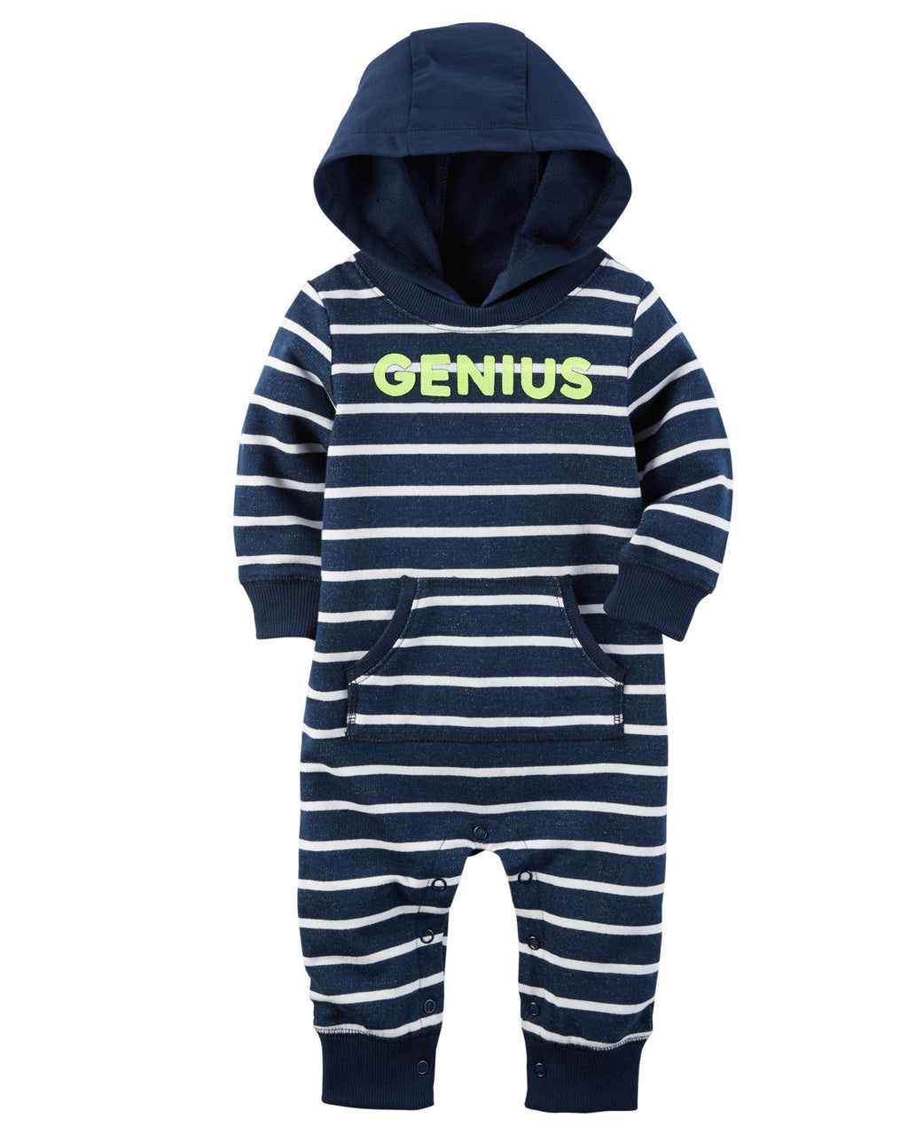 Enterito CARTERS Hooded French Terry Jumpsuit
