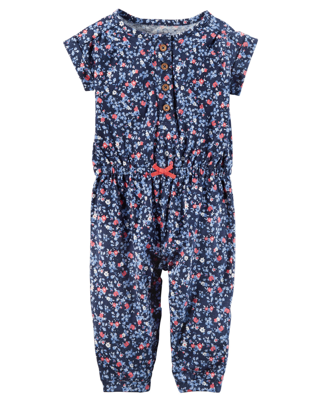 Enterito CARTERS Floral Jumpsuit