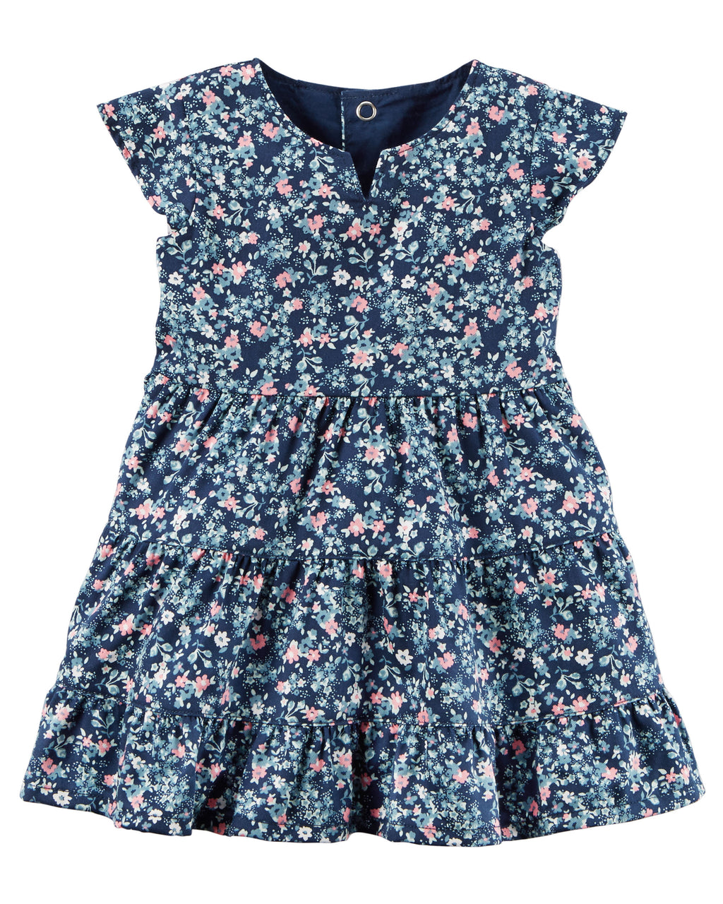 Vestido CARTERS Floral Twill Dress