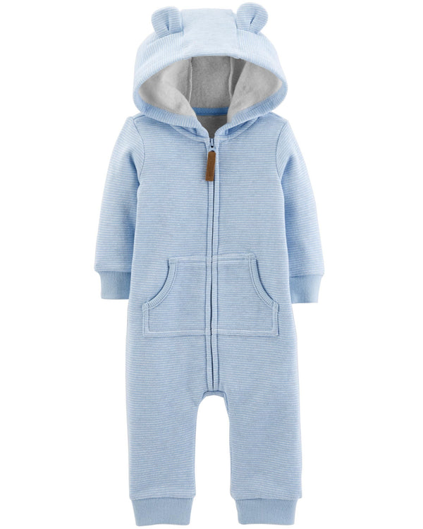 Enterito CARTERS Dog Hooded Fleece Jumpsuit
