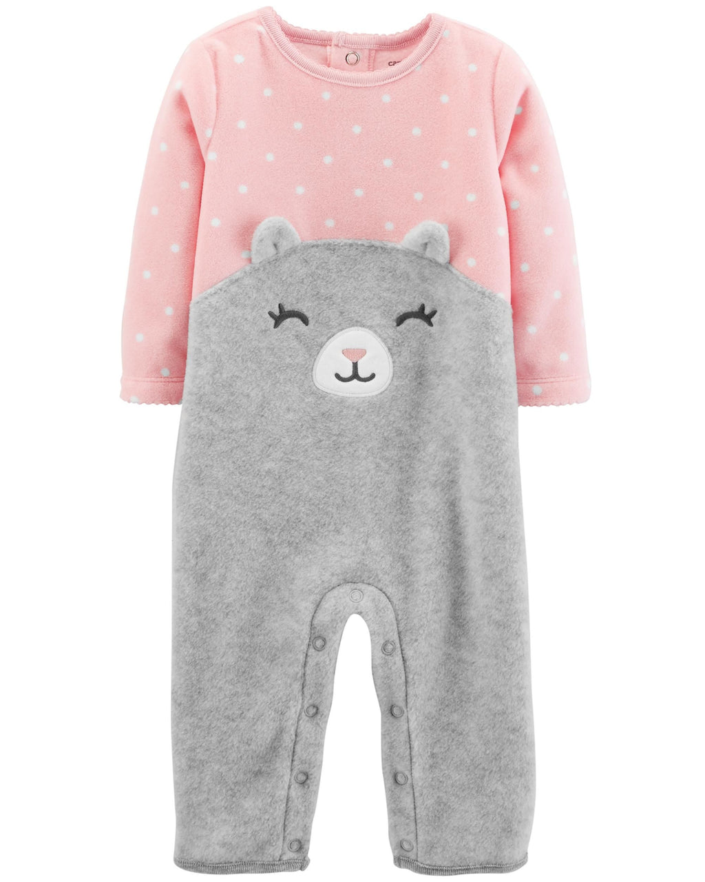 Enterito CARTERS Cat Fleece Jumpsuit
