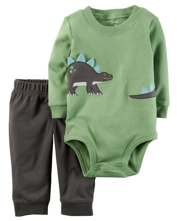 Conjunto CARTERS 2-Piece Bodysuit Pant Set