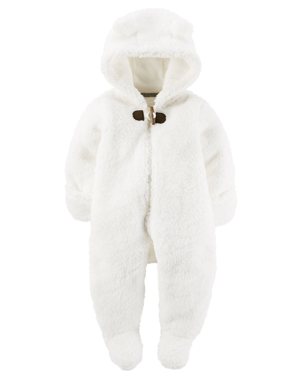 Enterito CARTERS Hooded Sherpa Bunting