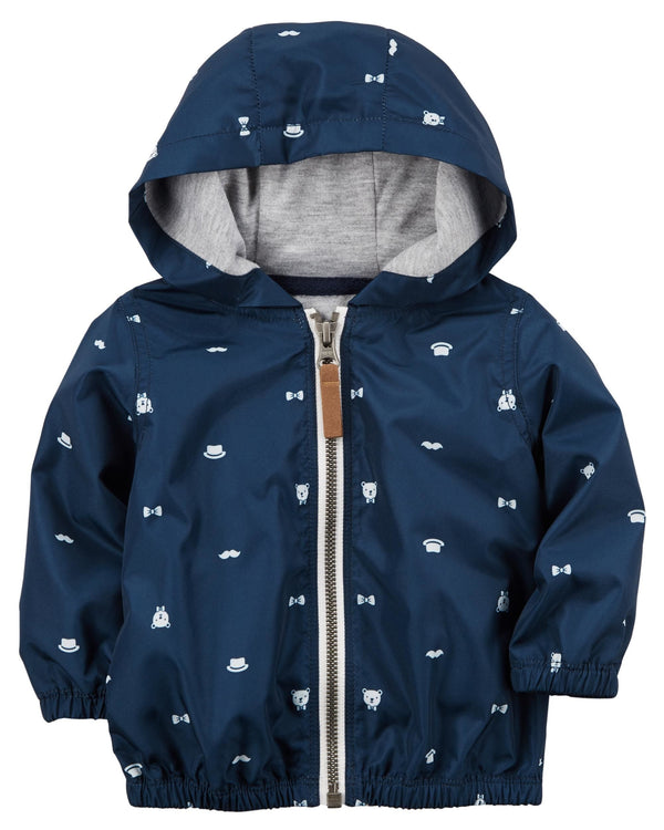 Campera CARTERS Zip-Up Poplin Hoodie