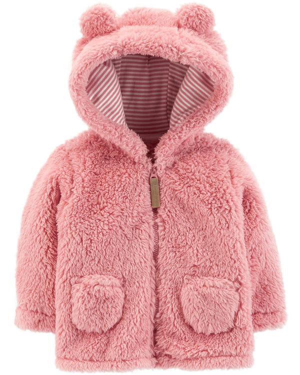 Campera CARTERS Zip-Up Sherpa Jacket