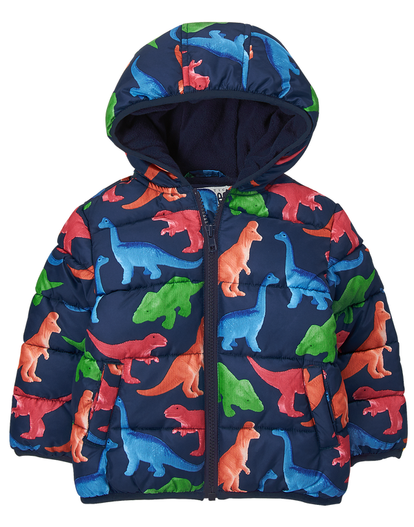 Campera GYMBOREE Dino Puffer Jacket