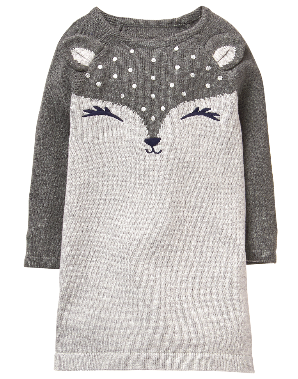 Vestido GYMBOREE Fox Sweater Dress