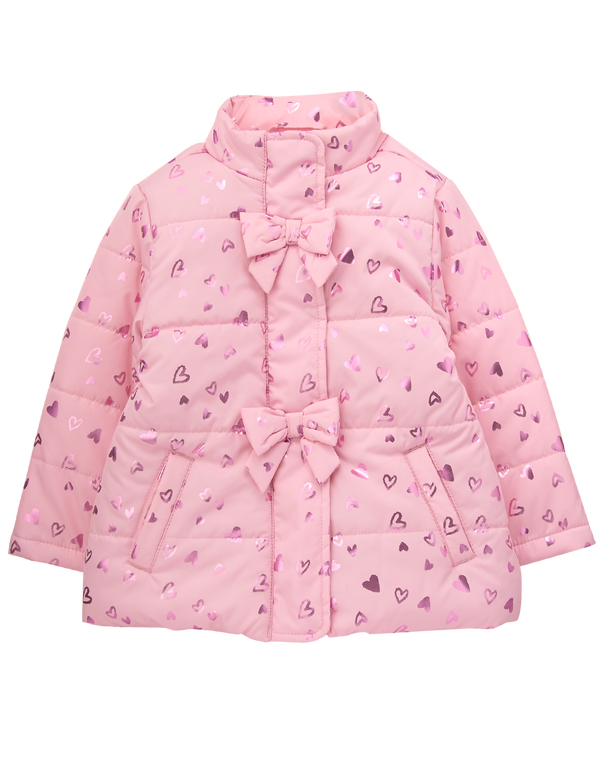 Campera GYMBOREE Heart Puffer Jacket