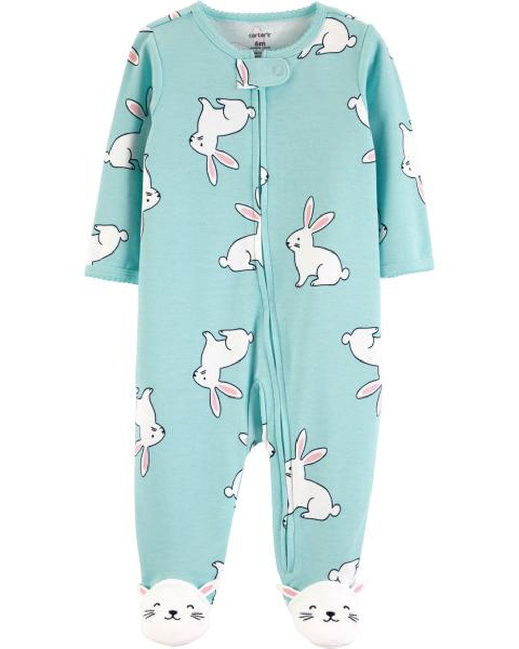 Enterito CARTERS Bunny Zip-Up Cotton Sleep & Play