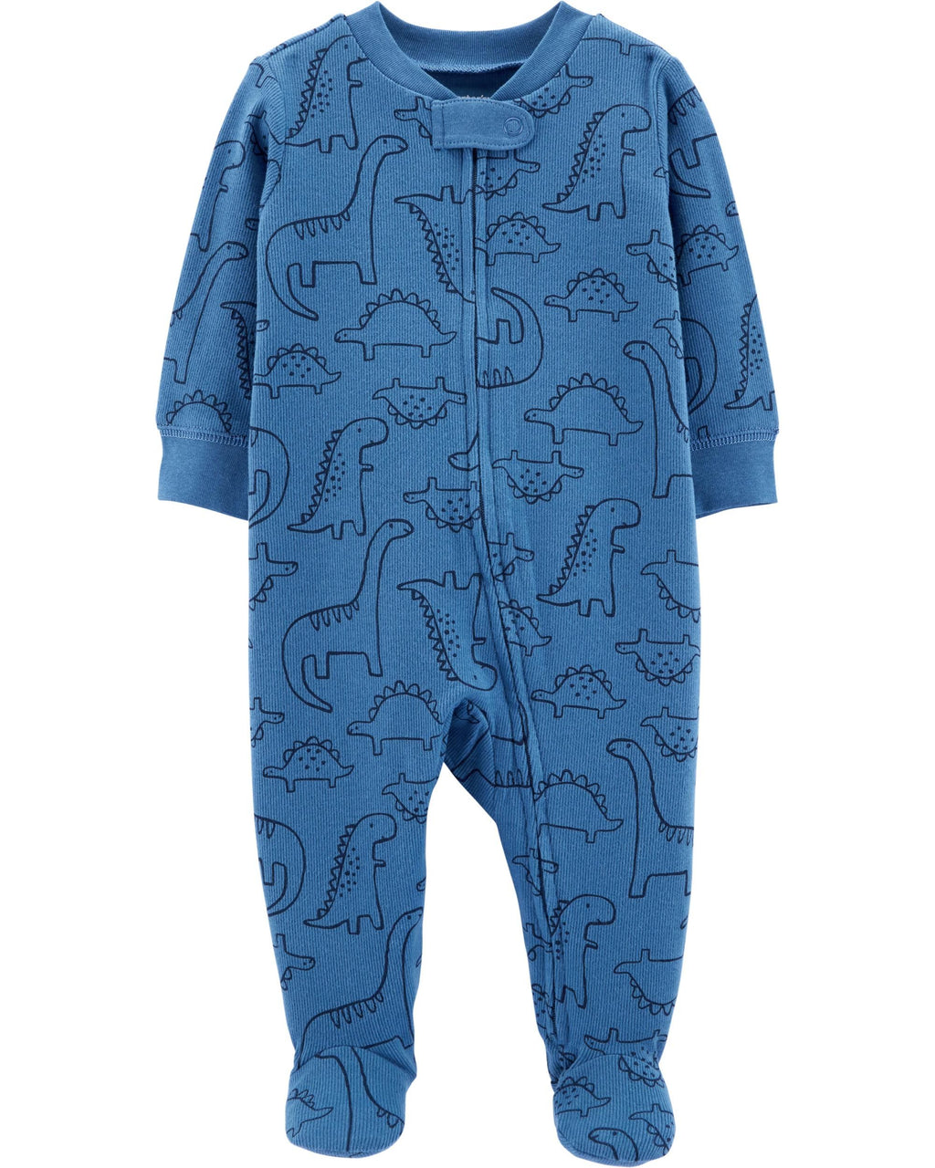 Enterito CARTERS Dinosaur Zip-Up Cotton Sleep & Play