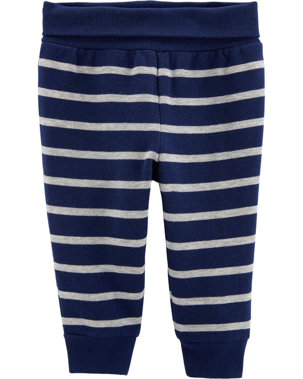 Pantalon CARTERS Striped Pull-On Fleece-Lined Pants