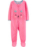 Pijama CARTERS 1-Piece Bear Poly Footie PJs