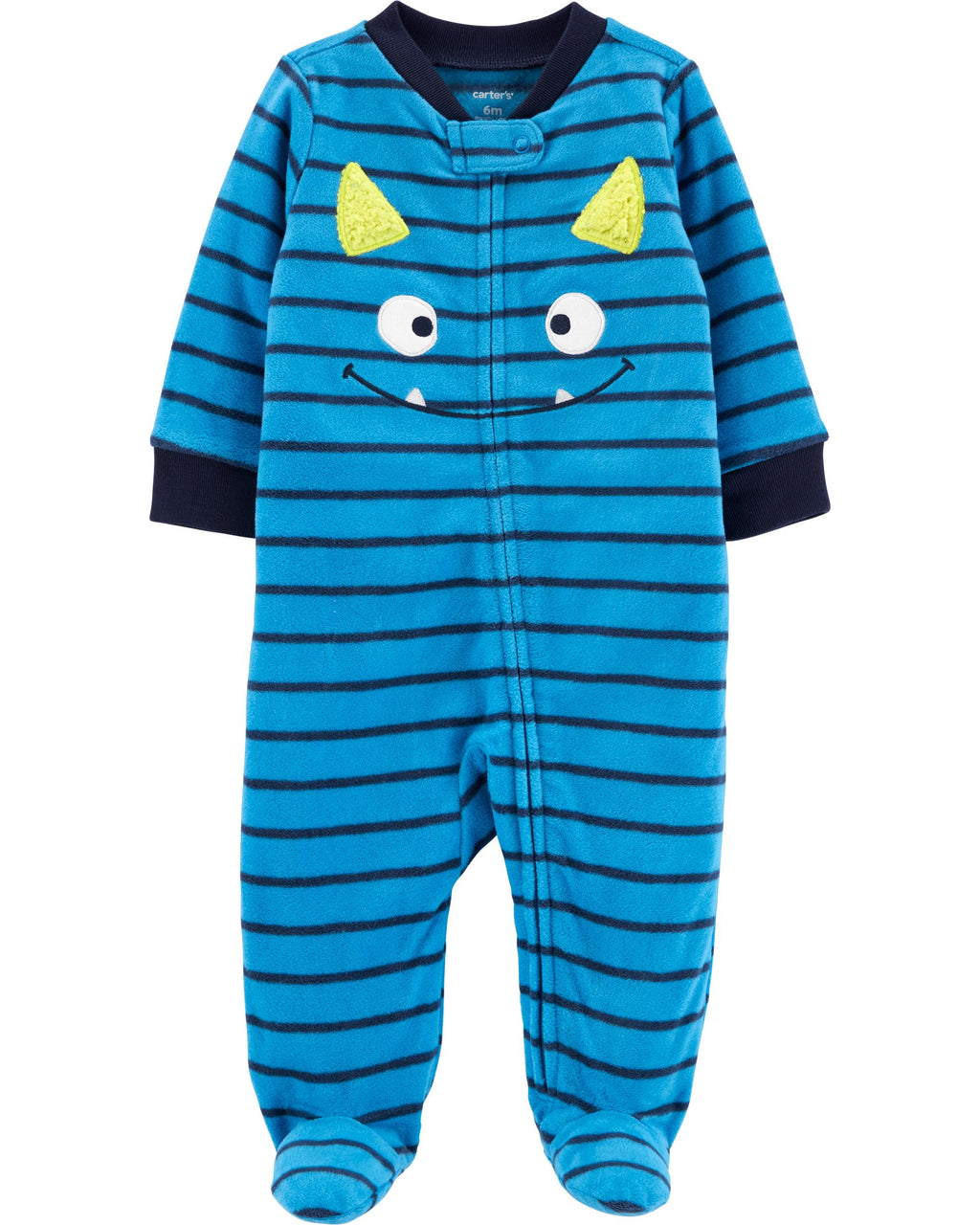 Enterito CARTERS Monster Zip-Up Fleece Sleep & Play
