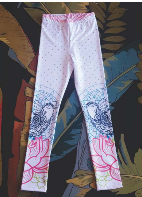 Leggings Lycra Birds PRINTS