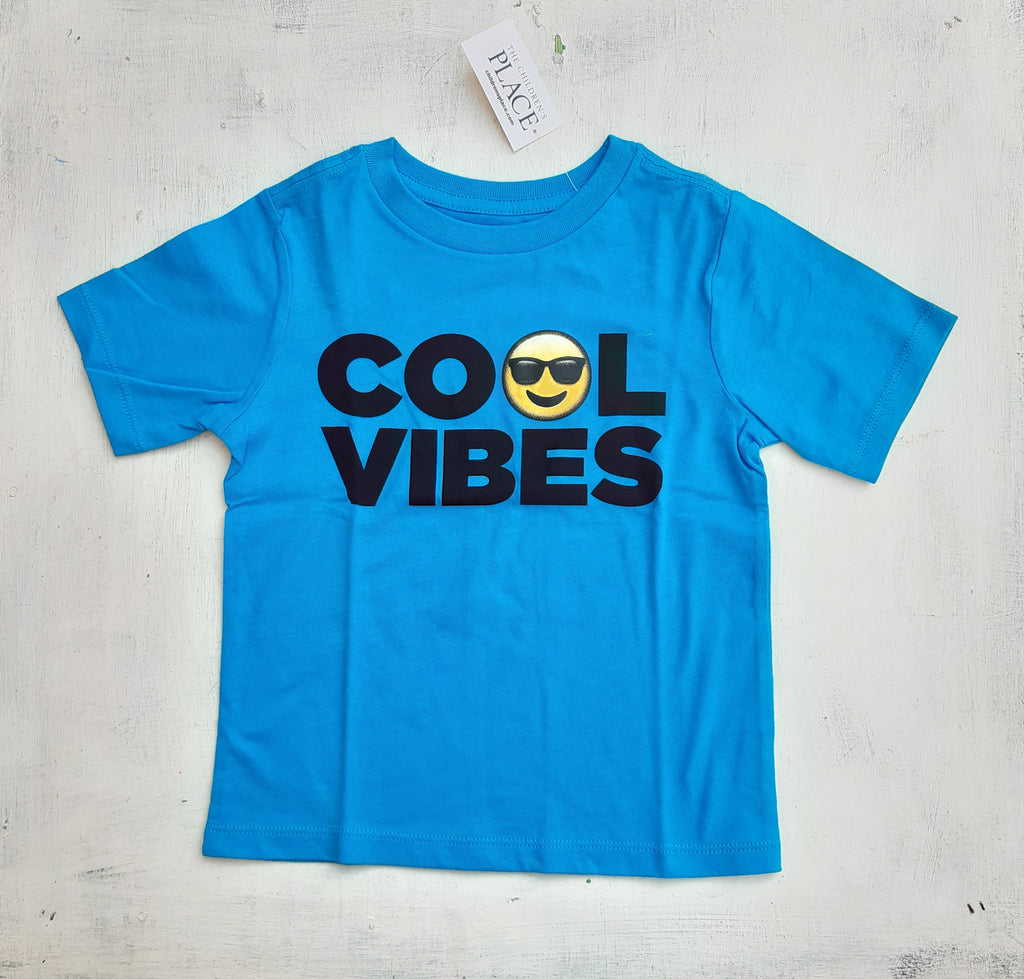Remera THE CHILDRENS PLACE  Emoji Cool Vibes