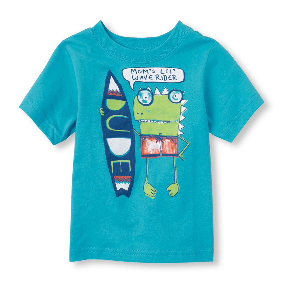Remera Childrens Place Mom's Wave Rider Graphic Tee