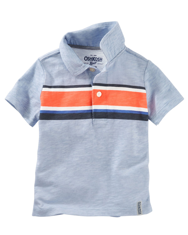 Chomba OSHKOSH Engineered Stripe Jersey Polo