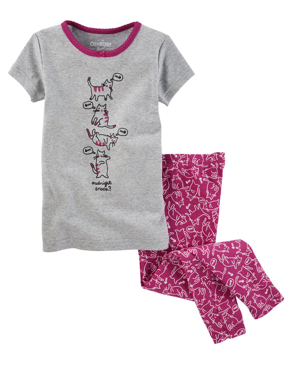Pijama OSHKOSH 2-Piece Snug Fit Cotton PJs