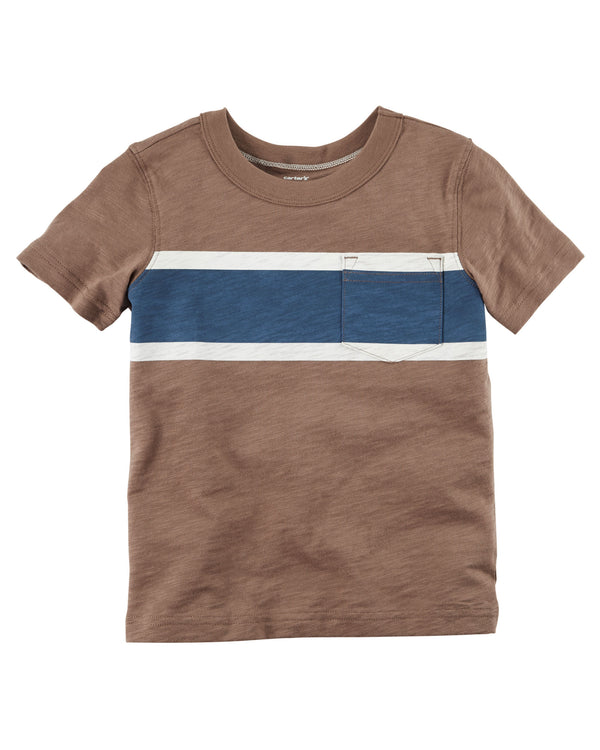 Remera CARTERS Striped Pocket Tee