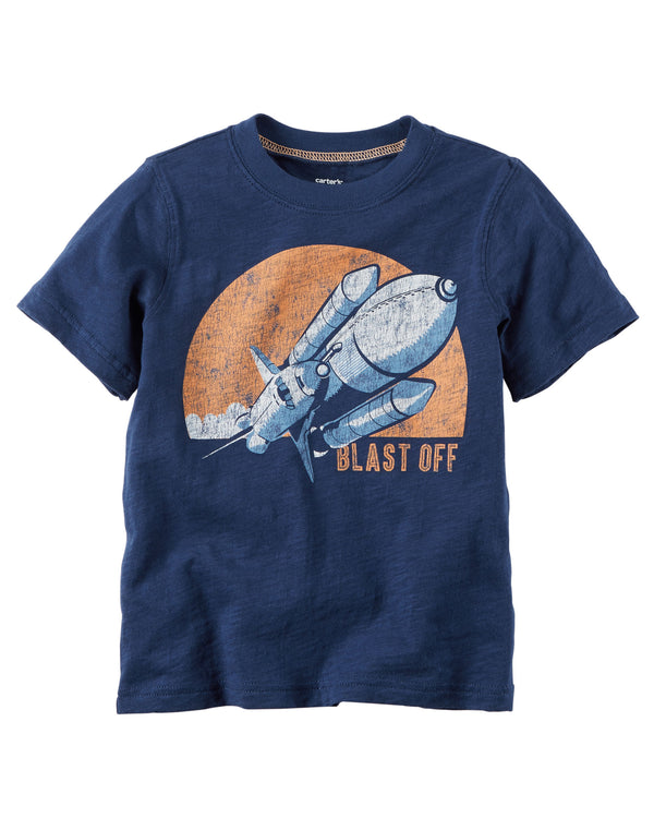 Remera CARTERS Rocket Graphic Tee