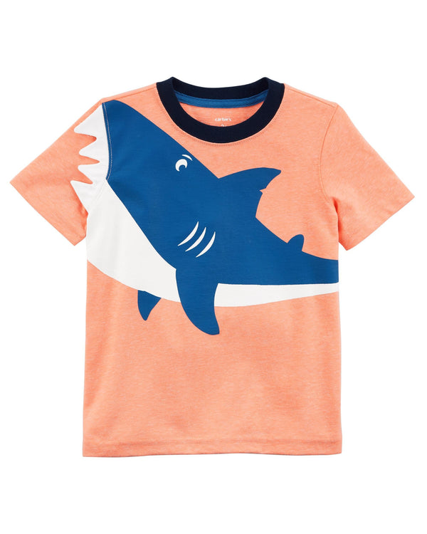Remera CARTERS Neon Shark Jersey Tee