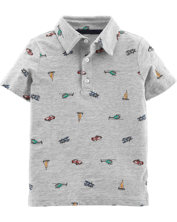 Chomba CARTERS Car Slub Jersey Polo