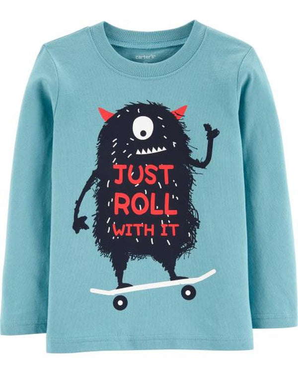 Remera CARTERS Monster Jersey Tee