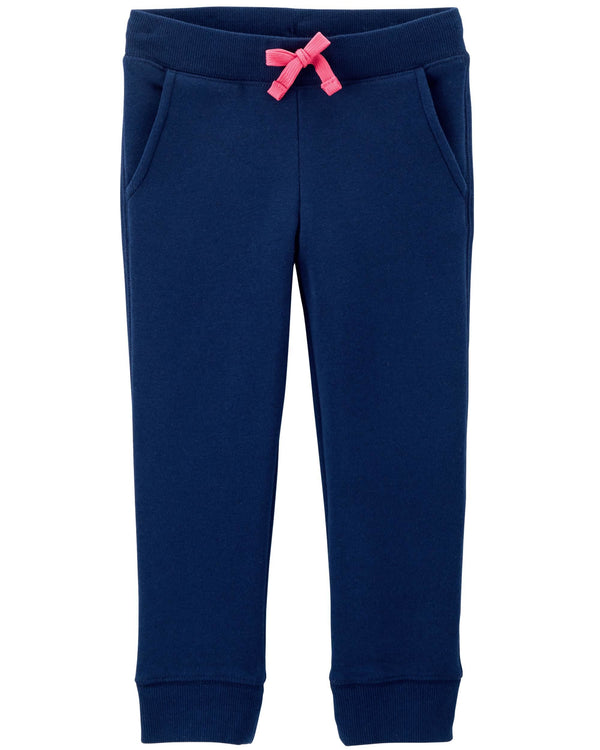 Joggers OSHKOSH Logo Fleece Pants Blue