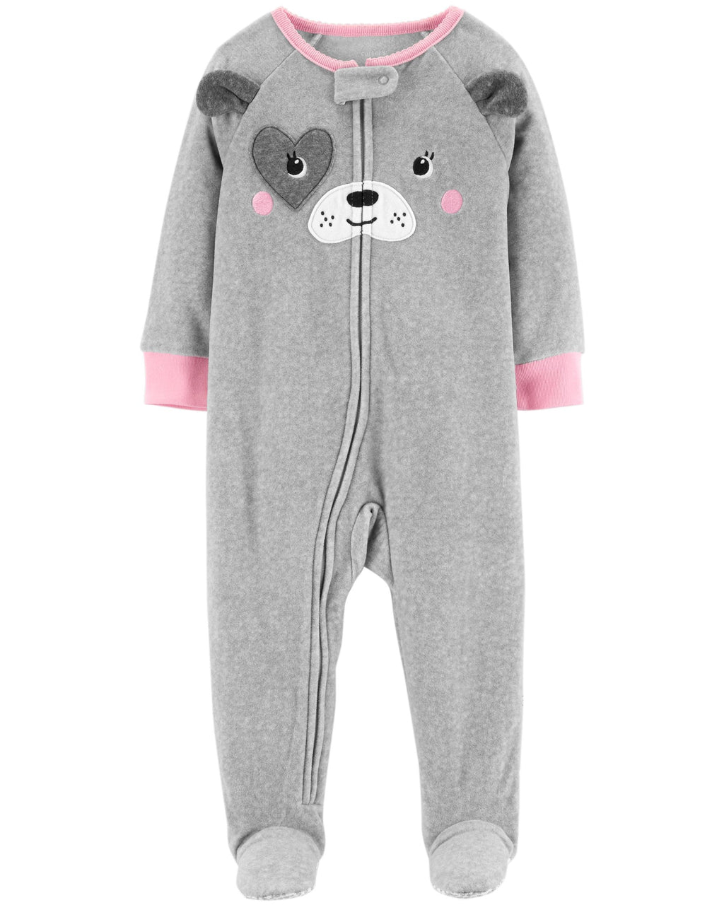 Pijama CARTERS 1-Piece Dog Fleece Footless PJs