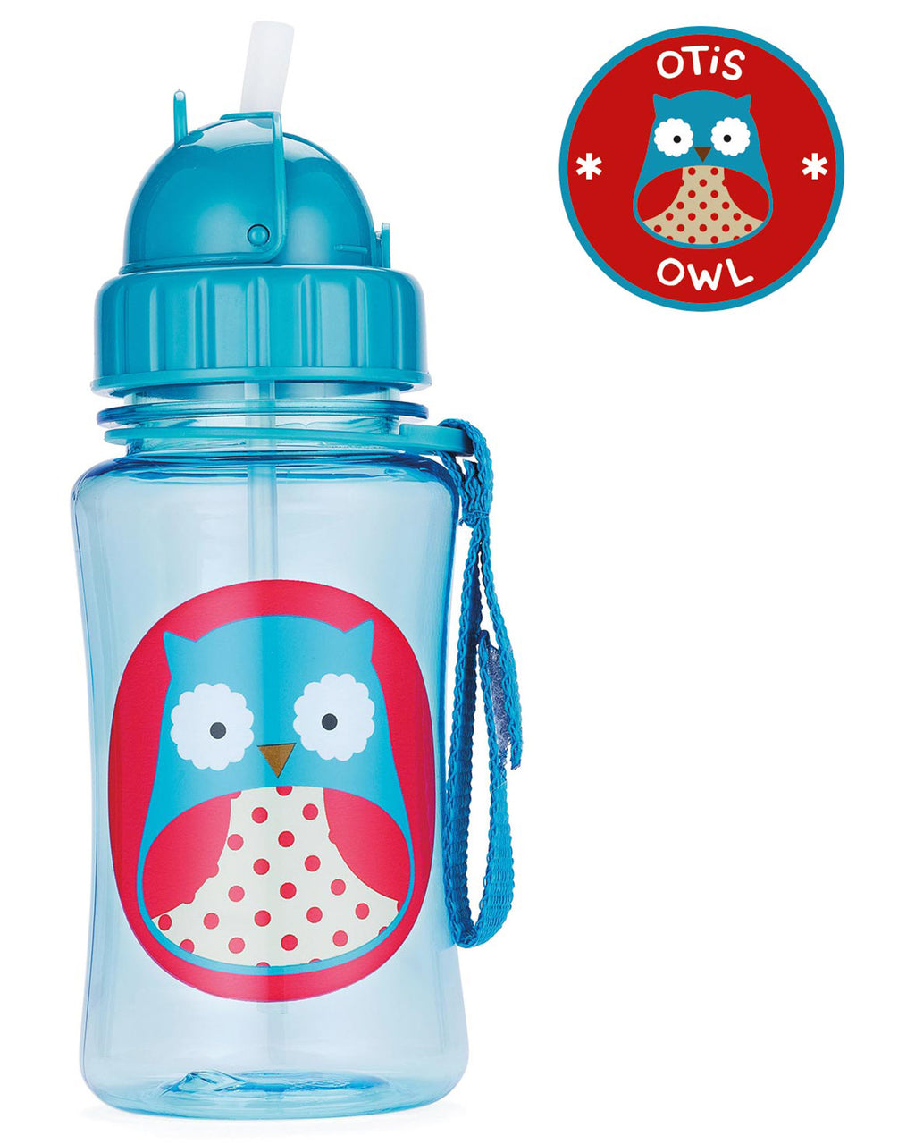 Vaso SKIP HOP Zoo Straw Bottle