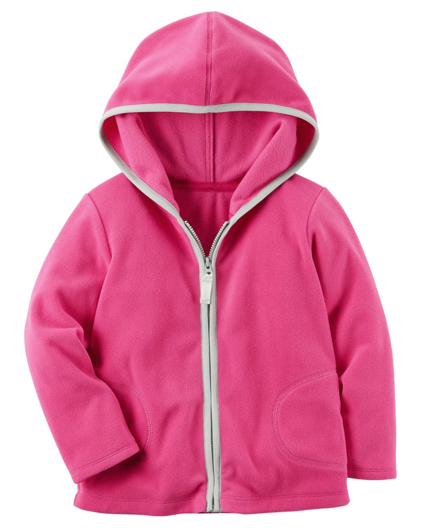 Campera CARTERS Fleece Zip-Up Hoodie