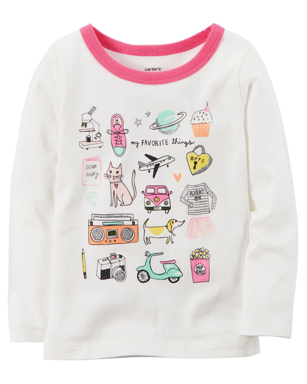 Remera CARTERS Favorite Things Graphic Tee