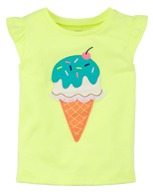 Remera CARTERS Ice Cream Flutter Jersey Tee