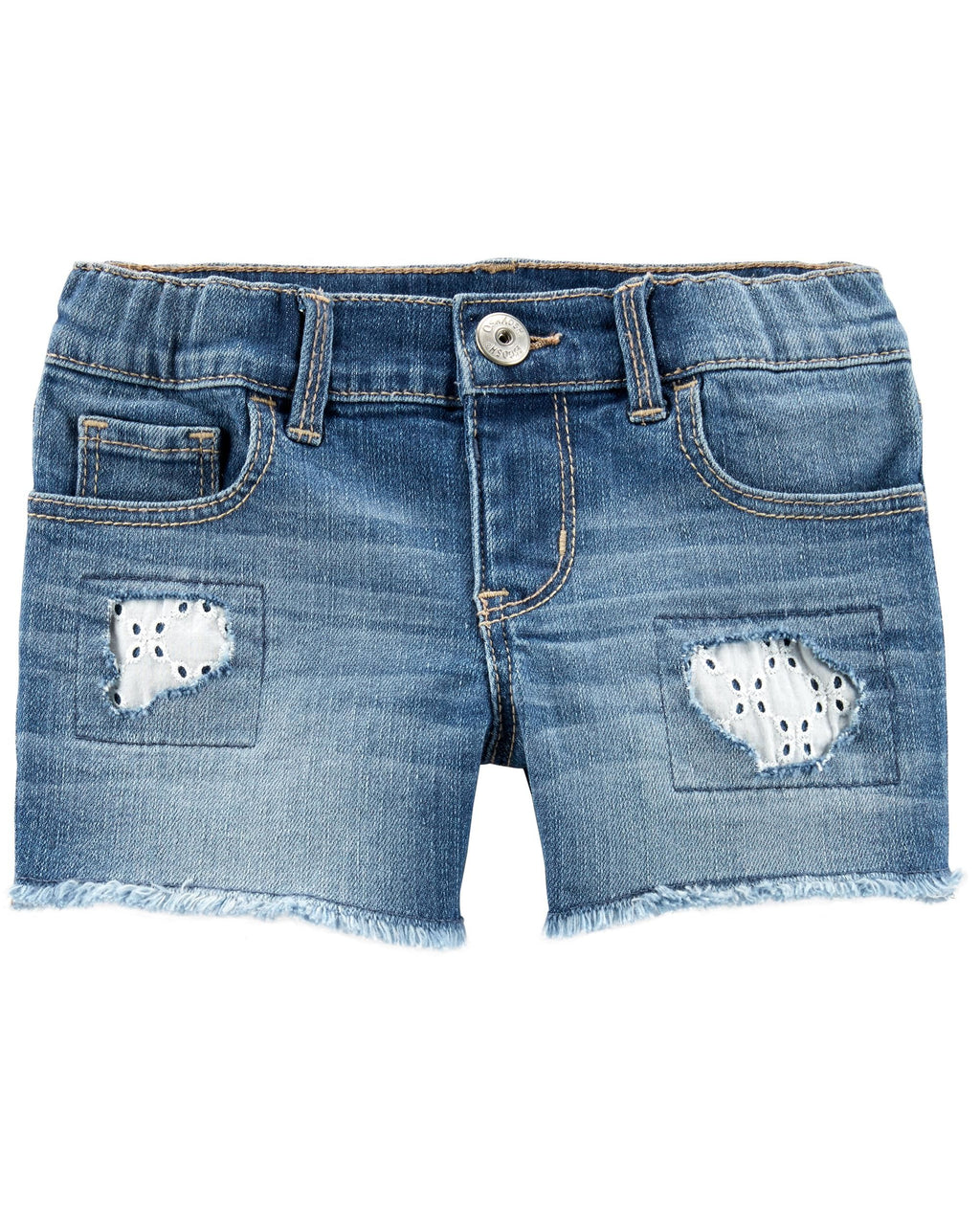 Shorts OSHKOSH Rip And Repair Stretch Denim Shorts