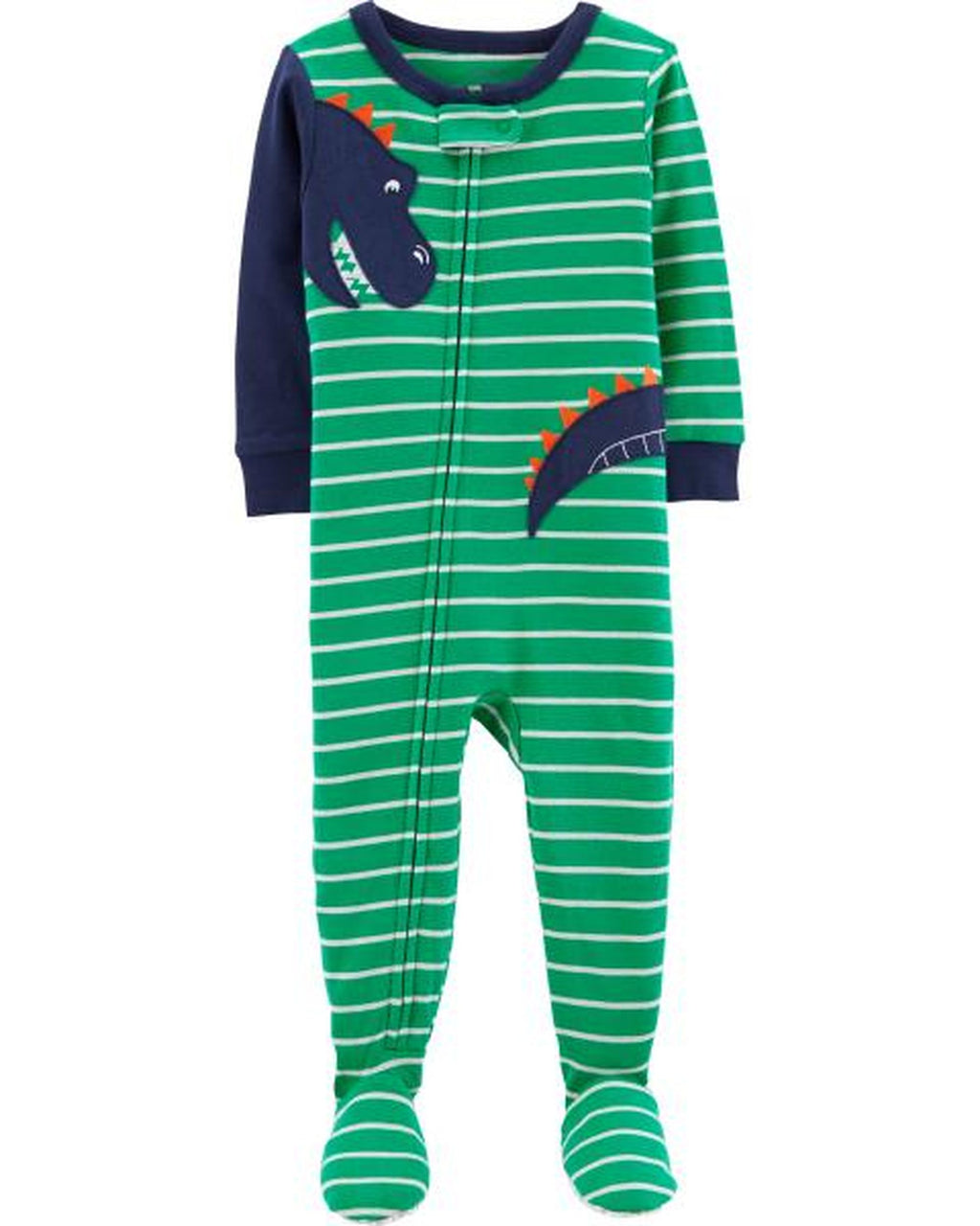 Pijama CARTERS 1-Piece Dinosaur Footed Snug Fit Cotton PJs