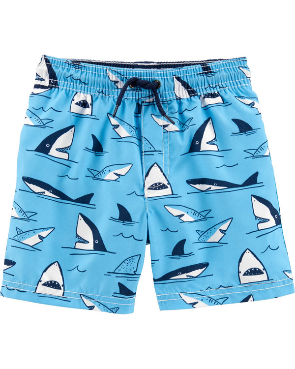 Malla CARTERS Shark Swim Trunks