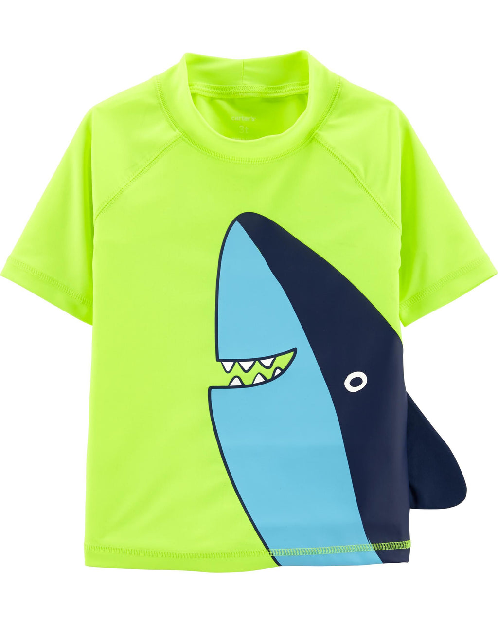 Remera con proteccion UV CARTERS Shark Rashguard