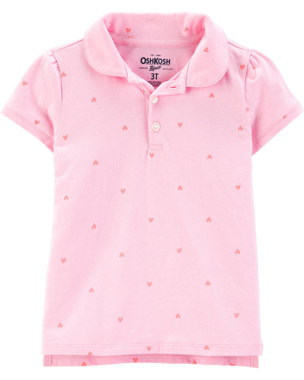 Chomba OSHKOSH Heart Jersey Polo
