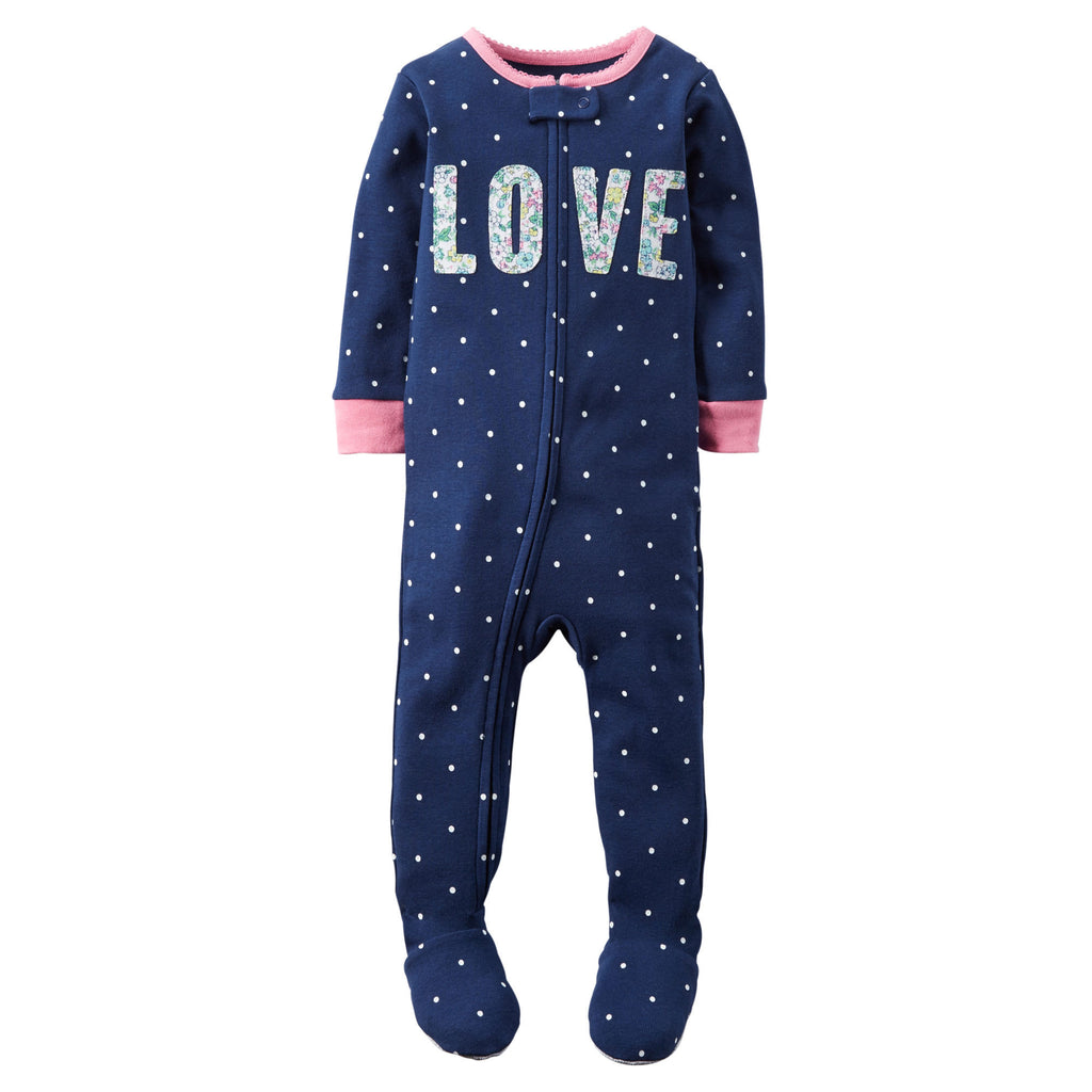 Pijama CARTERS 1-Piece Snug Fit Cotton PJs