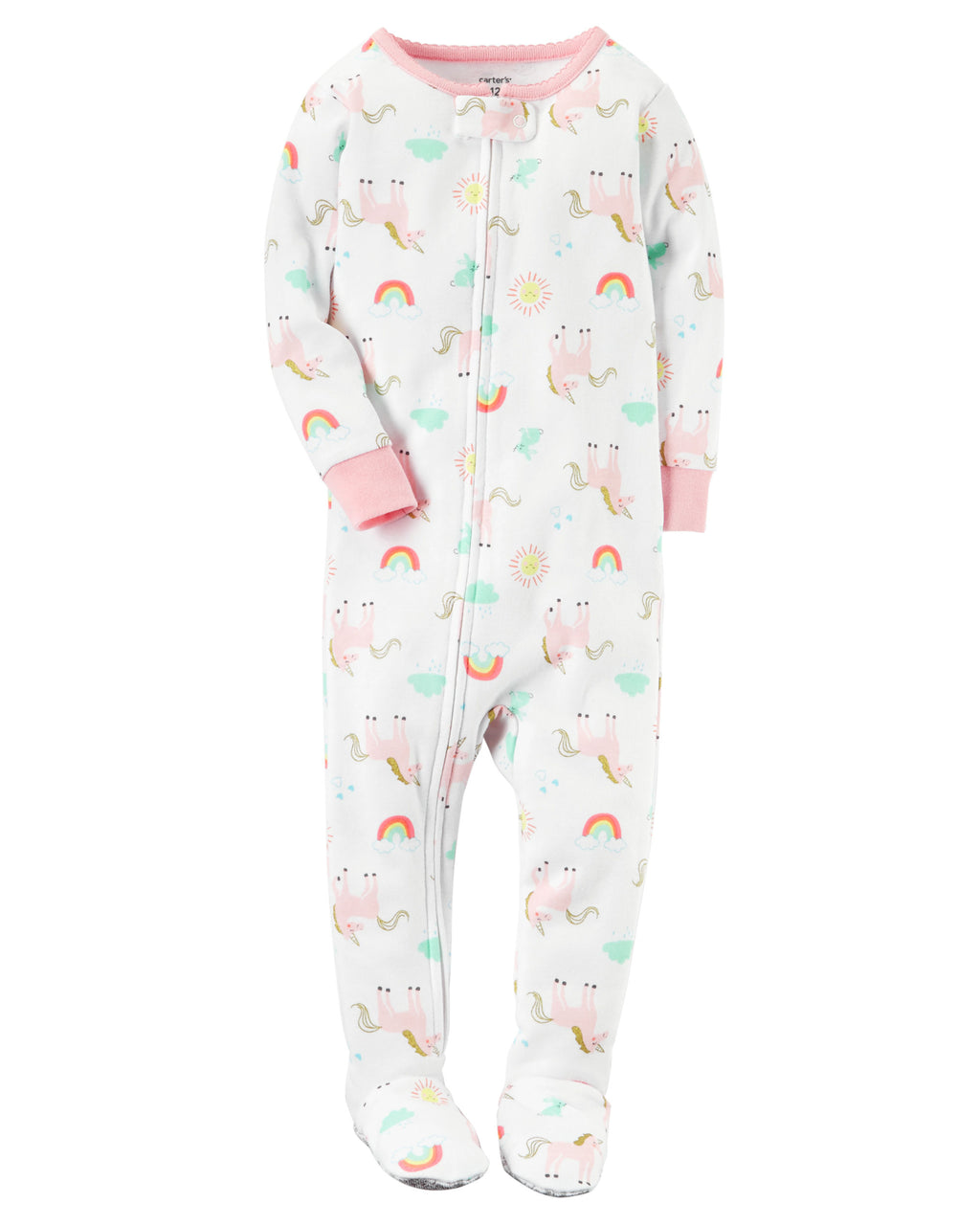 Pijama CARTERS 1-Piece Unicorn Snug Fit Cotton PJs